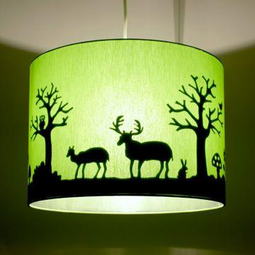 Lamp Magische Bos groen# Hartendief