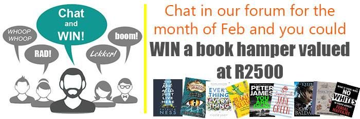 Get your book chat on and you could be the lucky winner of an incredible book hamper valued at R2500. http://www.readerswarehouse.co.za/catalog/myreaderswarehouse