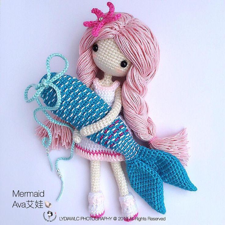 LCD2-Mermaid  Ava艾娃 Look like a fish seller
