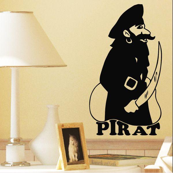 Die besten 25+ Wandtattoo pirat Ideen auf Pinterest - wandtattoos fürs schlafzimmer