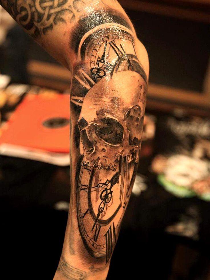 42 best Timepiece Tattoo Ideas images on Pinterest | Clock ...