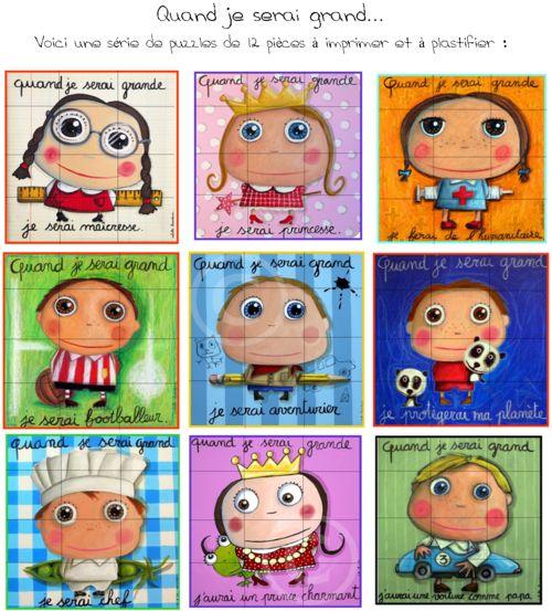 Puzzles Isabelle Kessedjian