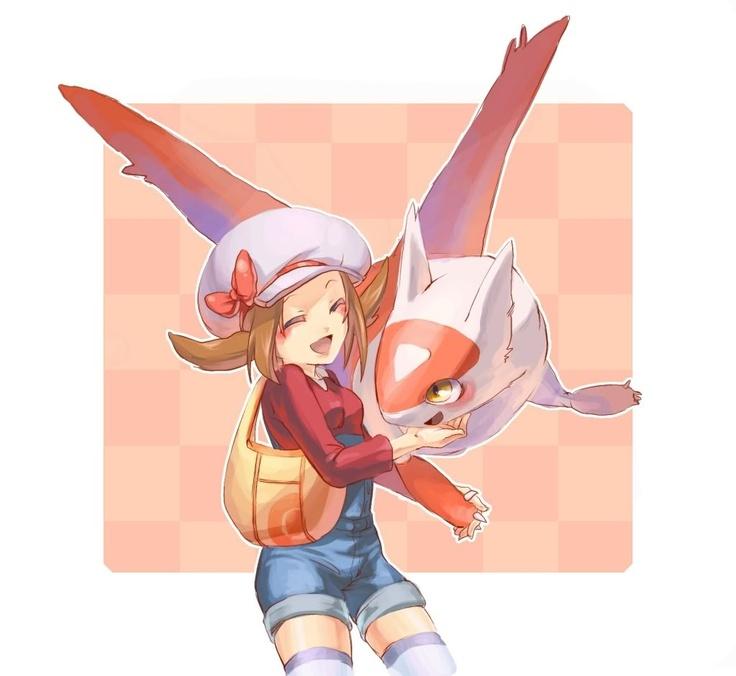Latias & Lyra - Pokémon