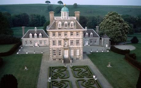Ashdown House built by Lord Craven for Elizabeth of Bohemia in the late 17th century