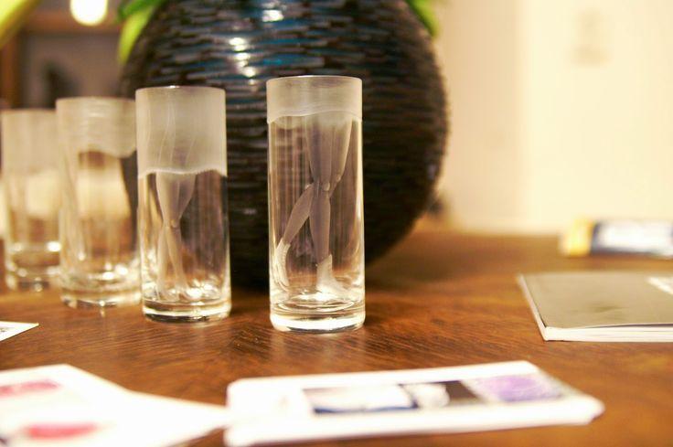 Seasonal glasses by Czech designer Jan Falta