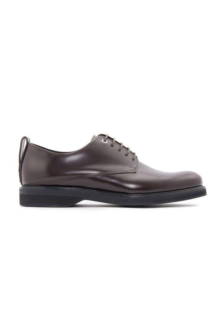 Want Les Essentiels de la Vie - Menswear - FW16 // Brown Montoro derby shoes in leather