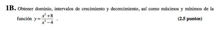 Ejercicio 1B 2008-2009 setiembre. Propuesto en examen pau de Canarias. Matemática. Continuidad, derivabilidad y representación de funciones. Límites.