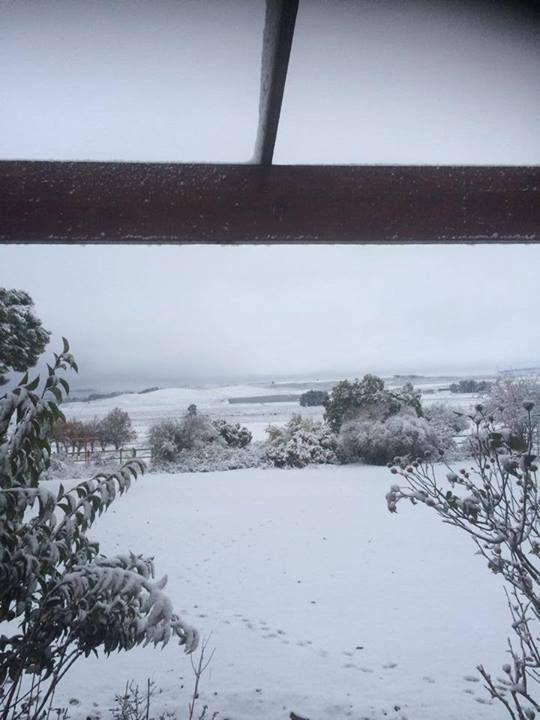 Matroosberg Snow 10/06/2014