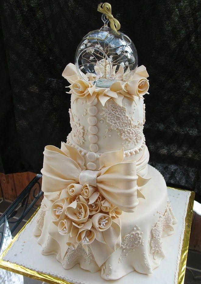 Красивейшие свадебные торты