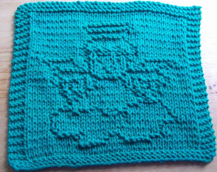 DigKnitty Designs: Angel on a Cloud Knit Dishcloth Pattern