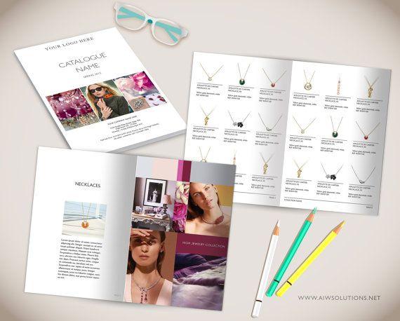 wholesale product catalog template photoshop product