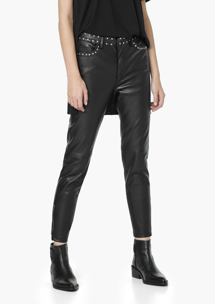 Pantaloni cu ținte - Pantaloni pentru Femei | MANGO