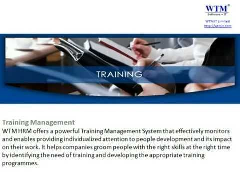 Introduction of WTM HRM (Human Resource management) Software and its fea...