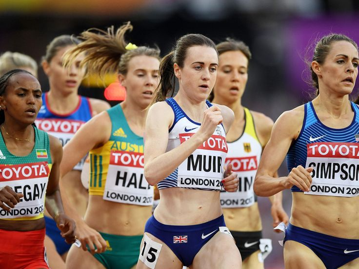 Laura Muir cruises into 1500m final while Katarina Johnson-Thompson recovers from slow heptathlon start