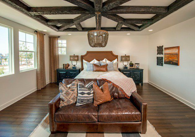 """Beacon Park Model Home Featured in  """"17 Relaxing Southwestern Bedroom Designs That Will Ensure A Peaceful Rest"""" Article"""