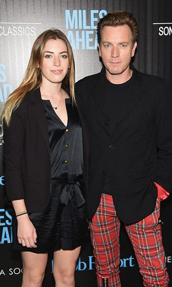 Ewan McGregor's daughter is the star of the show at the 'Miles Ahead' premiere