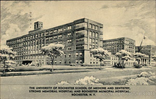 1948 Apr-28 Strong Memorial Hospital and Rochester Municipal Hospital New York
