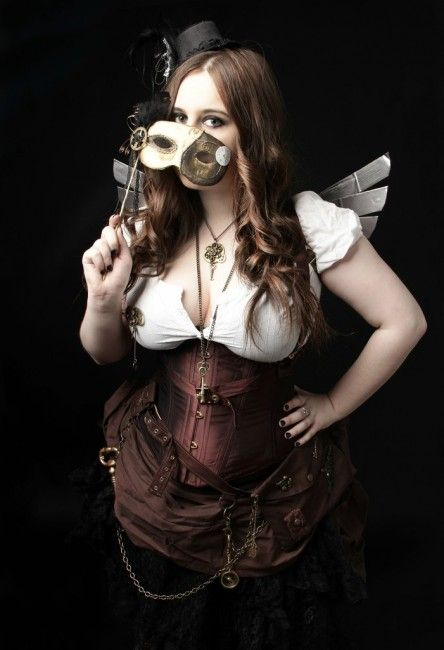 Steampunk Costume with Wings