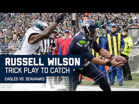 Doug Baldwin's TD Pass to Russell Wilson | Trick Play Alert| Eagles vs. Seahawks | NFL - YouTube