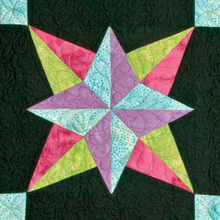 Star Quilt Patterns Pictures Go Blazing Star 6