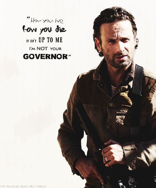 The Walking Dead || Rick Grimes (Andrew Lincoln)