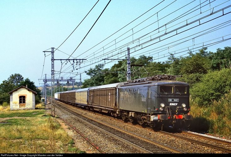 BB 8143 SNCF SNCF BB 8100 class at Lantenay, France by Maarten van der Velden