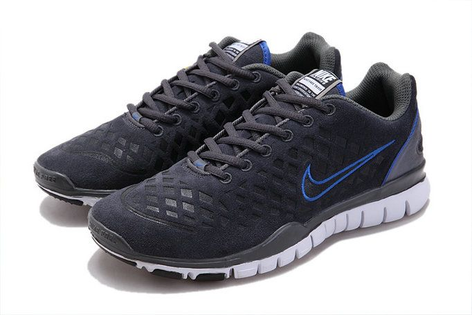 Buy Cheap Nike Free Run Tr Fit Grey Blue Men's Shoes H9Px369u