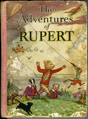 1939 Rupert Bear Annual - The Adventures of Rupert - Rare Original
