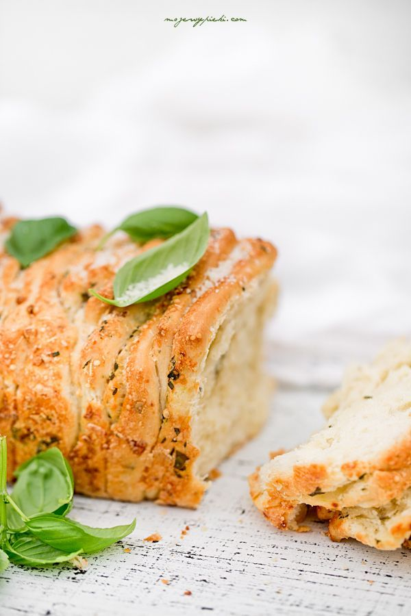 Herb, Garlic and Parmesan Pull Apart Bread