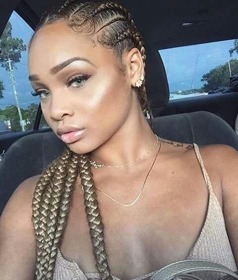 Emmadiana Braids Hairstyles Pinterest Tran 231 A
