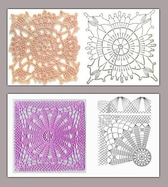 1205 best paños crochet images on Pinterest | Crochet patterns ...
