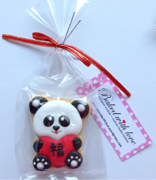 Prosperity Panda - work on frosting/icing techniques; use this particular bear for each Chinese holiday
