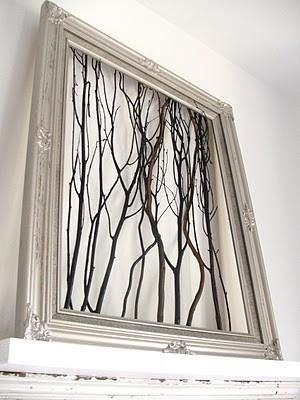Cadre avec branches