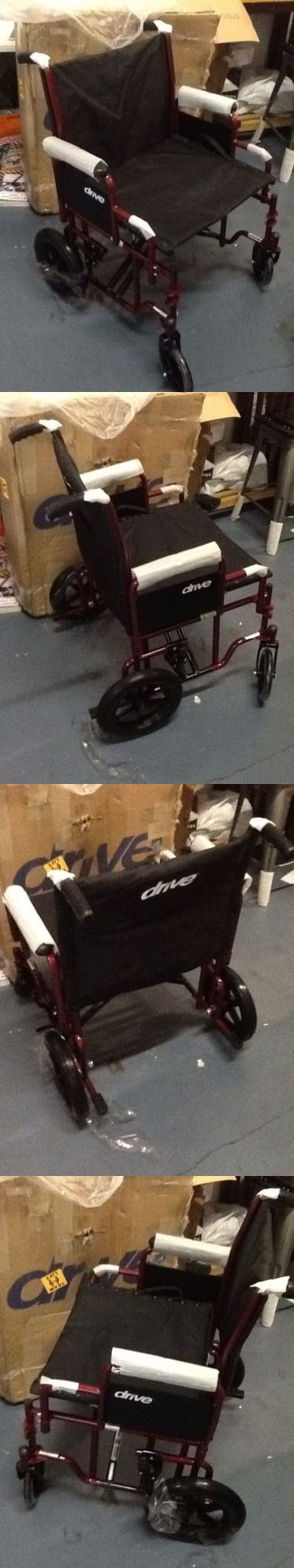 Wheelchairs: Drme-Btr22r-Drive Medical Bariatric Heavy Duty Transport Wheelchair With Swing- -> BUY IT NOW ONLY: $59.99 on eBay!