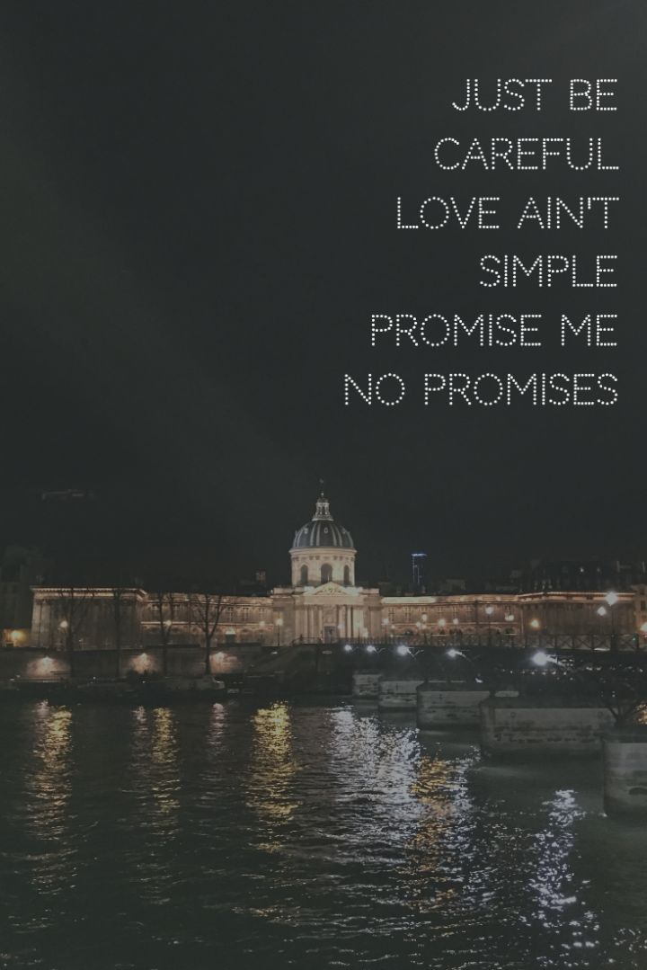 No Promises by CHEAT CODES feat. Demi Lovato || just be careful//love ain't simple//promise me no promises