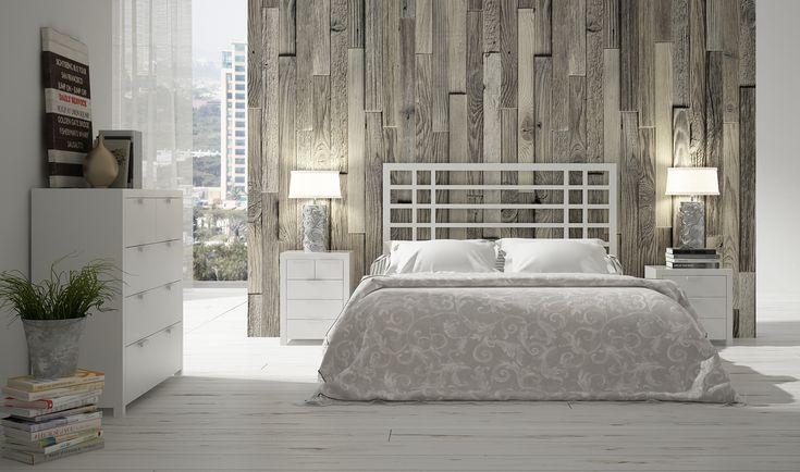 Dormitorio n rdico oberoi medium for Dormitorio nordico