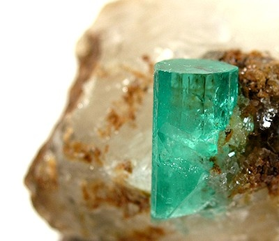 Emerald from Coscuez Mine, Boyaca, Colombia