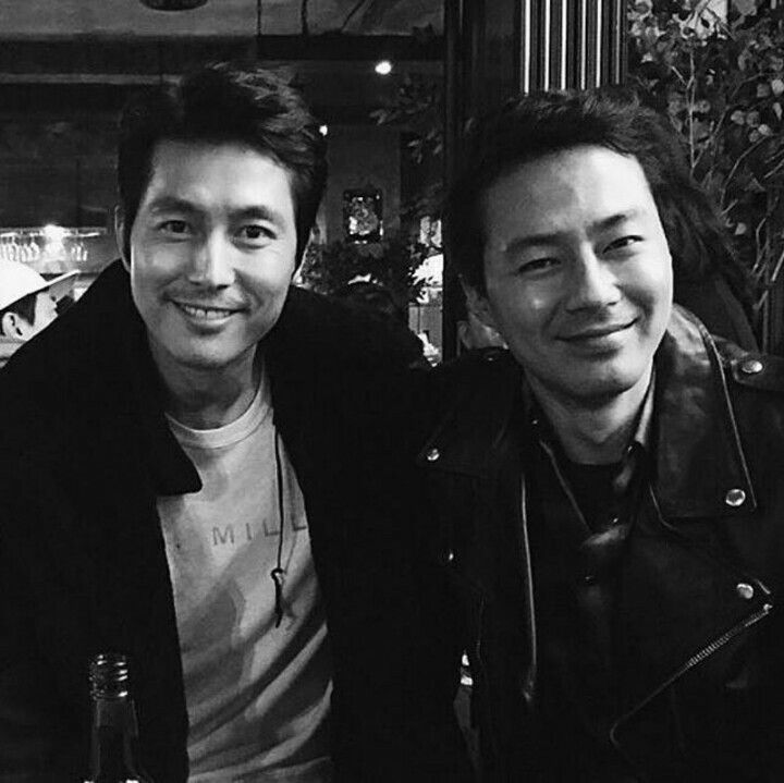 Jo In Sung and Jung Woo Sung