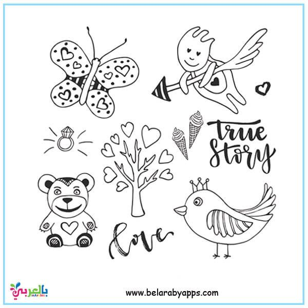 Butterfly Coloring Pages For Kids Preschool Belarabyapps Butterfly Coloring Page Coloring Pages For Kids Doodle Sketch