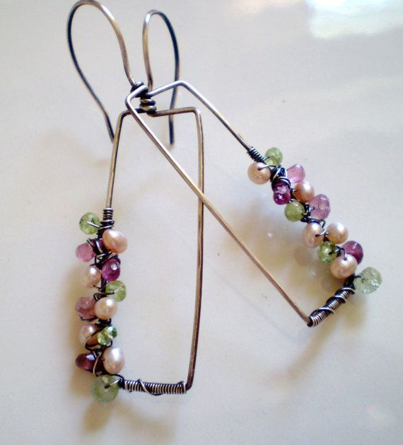 92 best Jewelry: Earrings: Wire is featured images on Pinterest ...