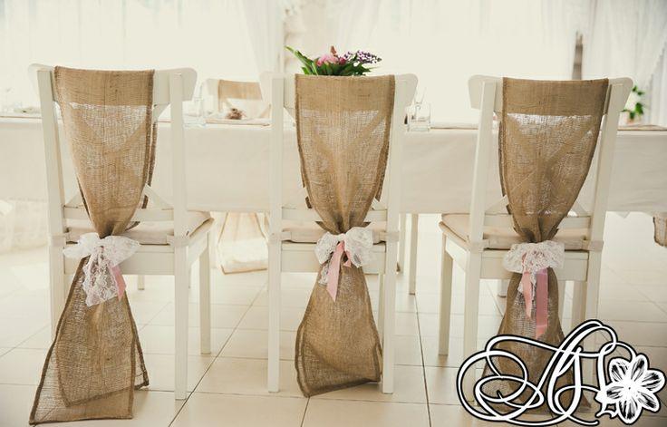 Мешковина для стульев