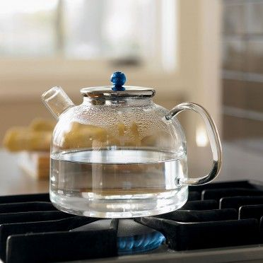 heat-proof lab glass tea kettle