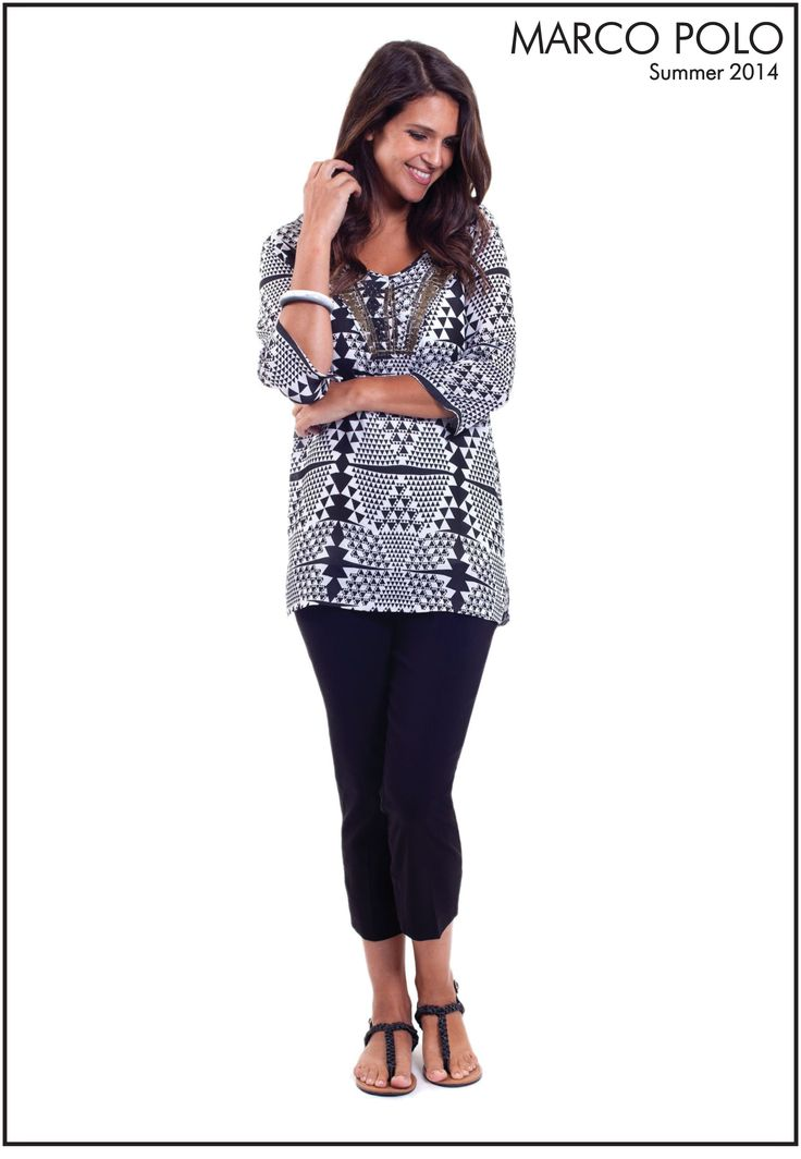 The 3/4 Raglan Sleeve Tea Glass Kaftan is a stunning addition to your Summer wardrobe. Dress up with black tailored pants or down with shorts. This stunning beaded piece is a Must have!! Please call 03 9902 5100 to locate your nearest stockist (Style Number: 14S447204M)