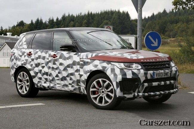 Range Rover Sport RS in a new series of spy shots