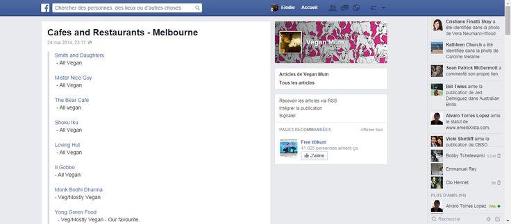 Cafes and Restaurants - Melbourne