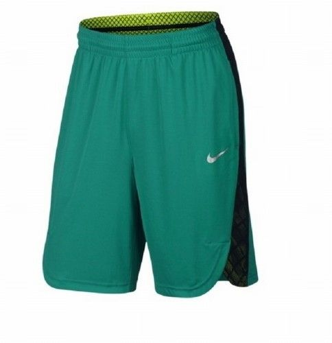Nike Teal Green Dri-Fit Elite Mens XL Athletic Basketball Shorts