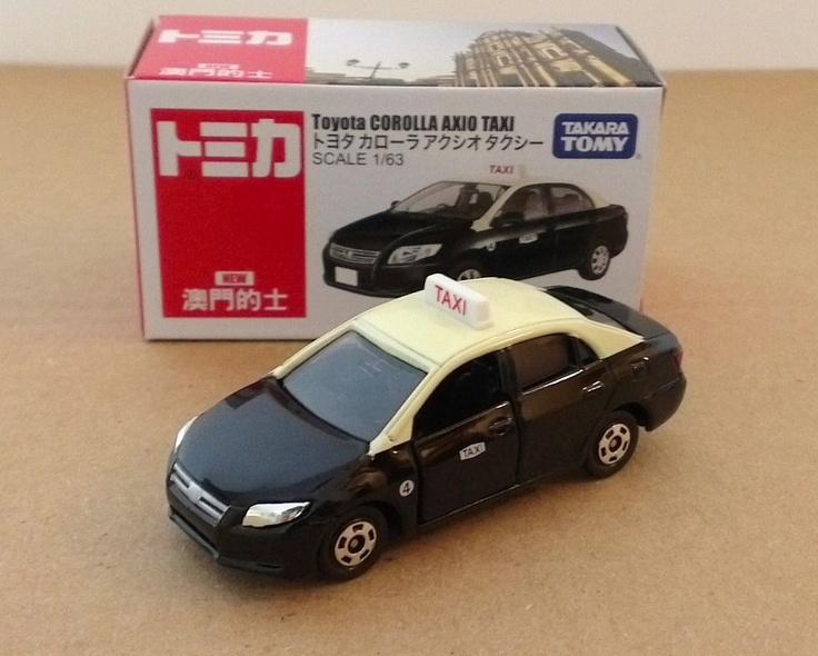 Tomica 2012 Toyota Corolla Axio Macau Taxi Hong Kong Exclusive Edition