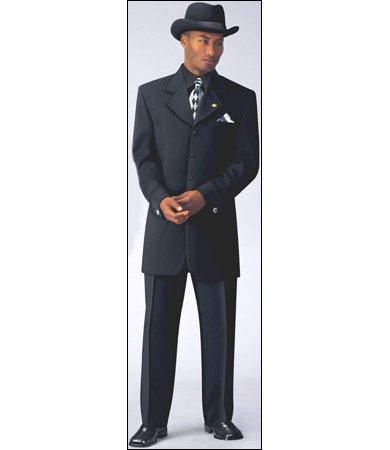 stacy adams suits | STACY ADAMS® BLACK CURTIS CUFF SUIT