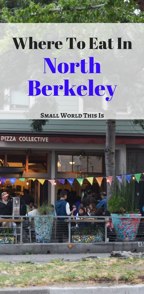 Where to Eat in North Berkeley, including my favorite place for take out sushi and a hidden courtyard to eat it in | Berkeley restaurants | Bay Area food