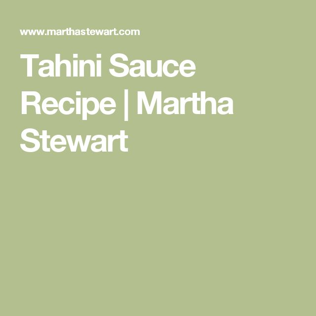 recipe: greenest tahini sauce [17]